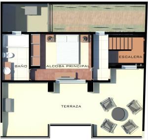 San Joaquin - Casa 1 y 2 - Altillo