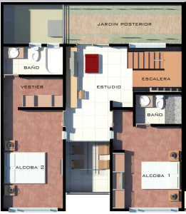 Segundo Piso (69.13 m2)