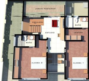 Segundo Piso (72.87 m2)
