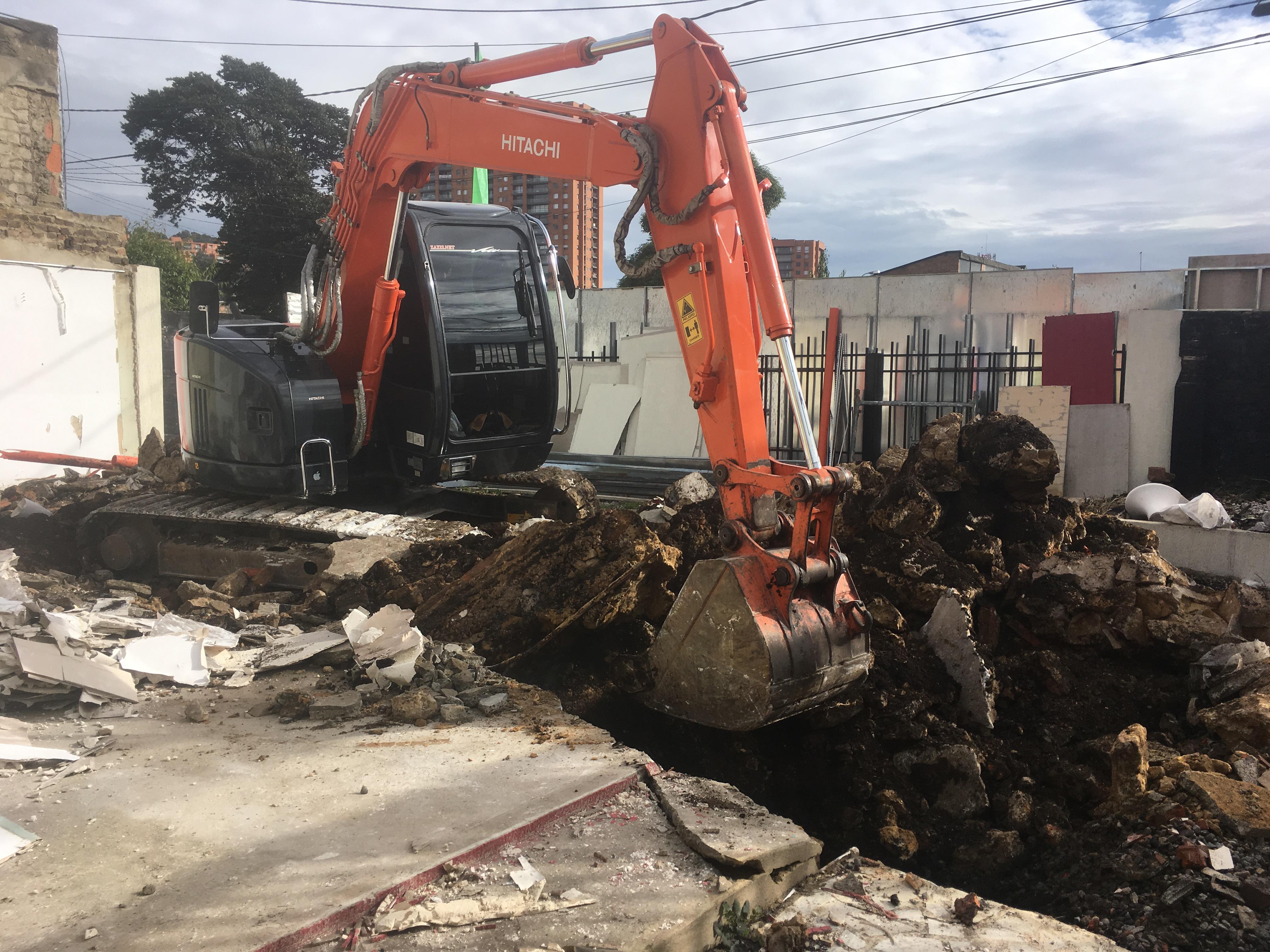Demolición Cimientos